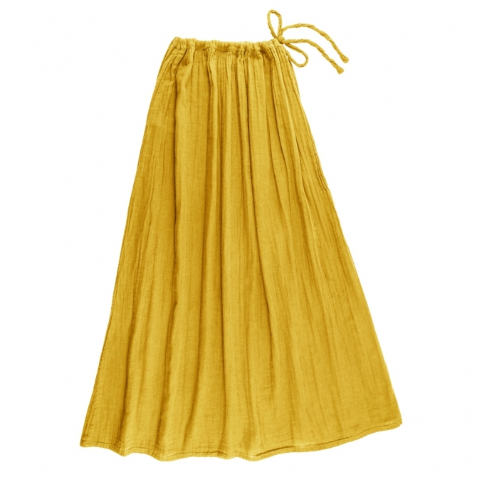 Numero 74 Skirt for mum Ava long sunflower yellow
