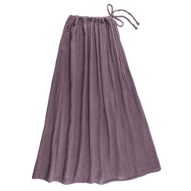 Numero 74 Spódnica dla mamy Ava długa zgaszony fiolet