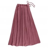 Spódnica dla mamy Ava długa malinowa