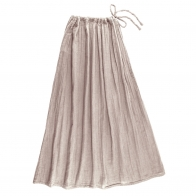 Spódnica dla mamy Ava długa pudrowa