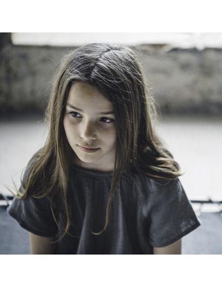 Numero 74 Bluzka dziecięca Clara szaroniebieska