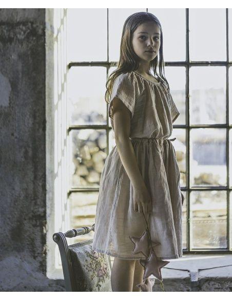 Numero 74 Bluzka dziecięca Clara pudrowa