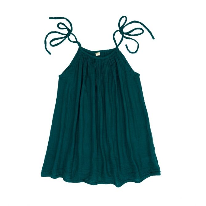 Numero 74 Dress short for mum Mia teal blue