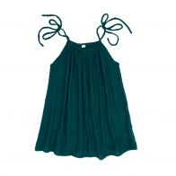 Dress short for mum Mia teal blue