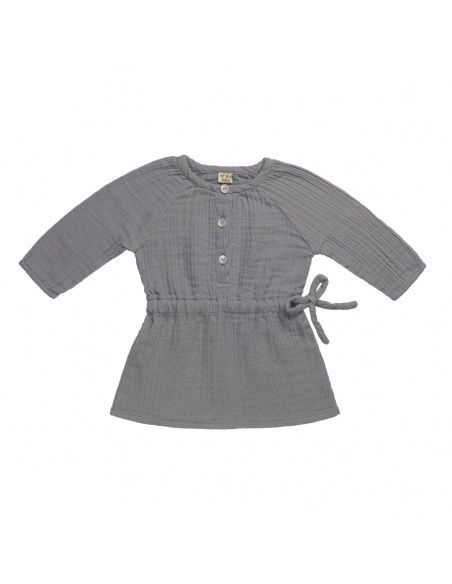 Numero 74 Naia Dress Baby & Kid stone grey