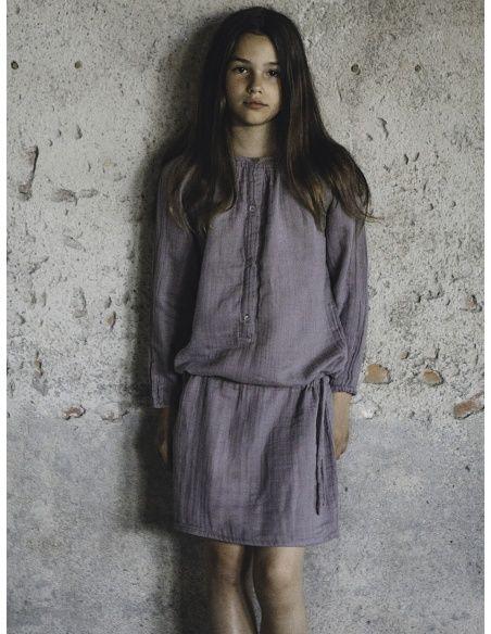 Numero 74 - Naia Dress Kid dusty lilac - 3