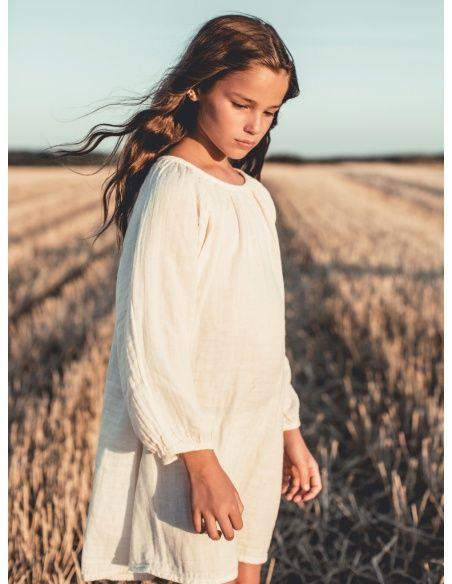 Numero 74 Sukienka Nina waniliowa