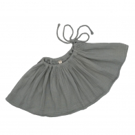 Skirt for teens Tutu silver grey