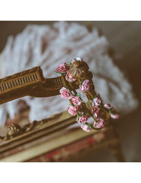 Numero 74 Opaska Flower różowa