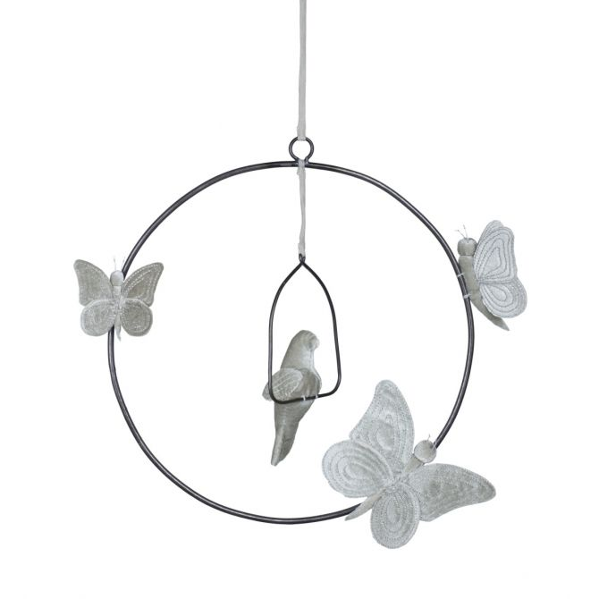 Numero 74 Decoration Bohemian Swing Mobil silver grey