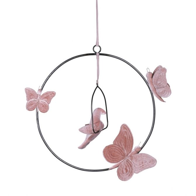 Numero 74 Decoration Bohemian Swing Mobil dusty pink