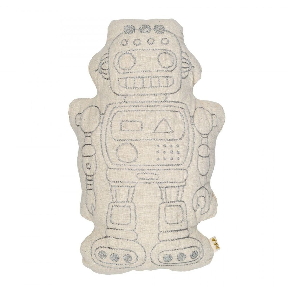 Numero 74 Robot Cushion Raff natural
