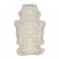 Robot Cushion Raff natural
