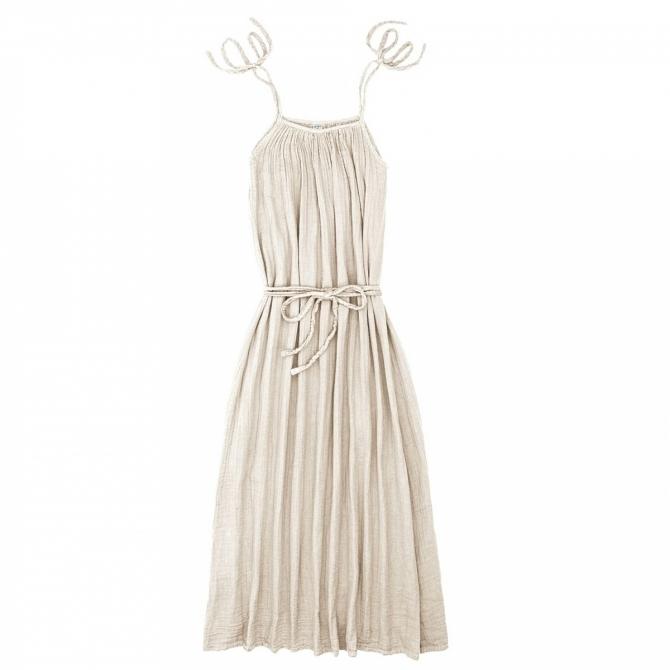 Numero 74 Sukienka dla mamy Mia długa waniliowa