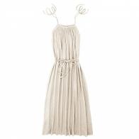 Sukienka dla mamy Mia długa waniliowa