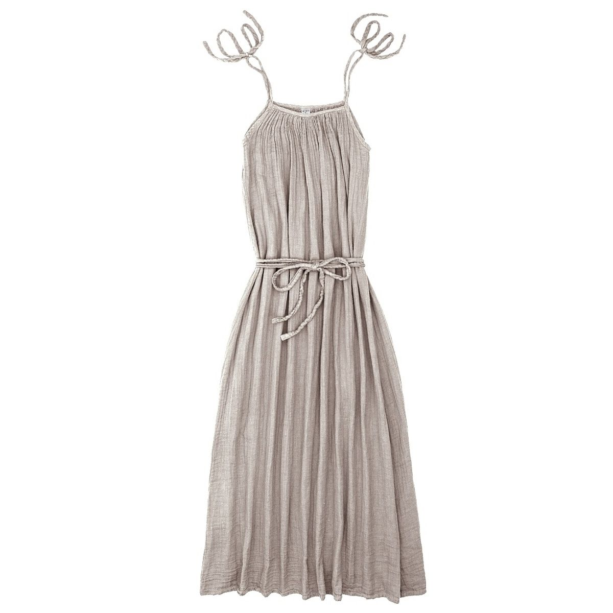 Numero 74 Sukienka dla mamy Mia długa pudrowa
