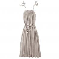 Sukienka dla mamy Mia długa pudrowa