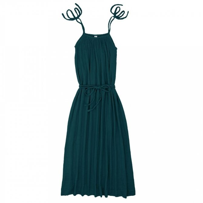 Numero 74 Dress for mum Mia long teal blue