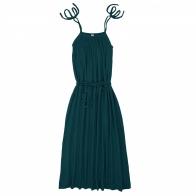 Sukienka dla mamy Mia długa ciemna morska