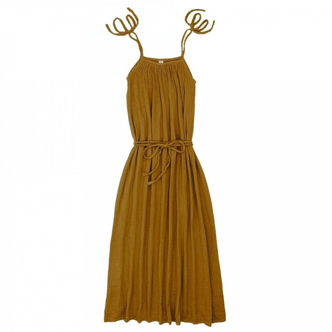 Dress for mum Mia long gold