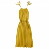 Sukienka dla mamy Mia długa słoneczna żółć