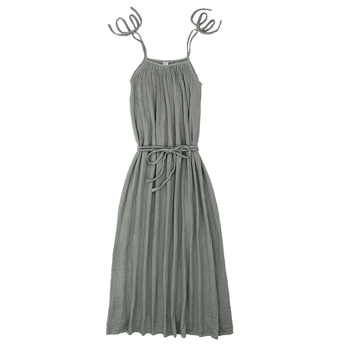Numero 74 Sukienka dla mamy Mia długa srebrnoszara