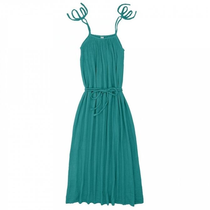 Numero 74 Sukienka dla mamy Mia długa turkusowa