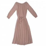 Dress for mum Nina long dusty pink