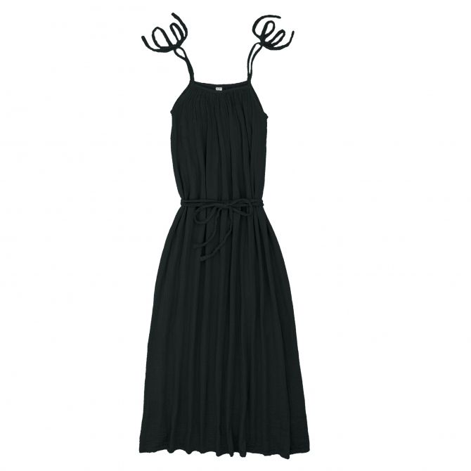 Mia Long Dress Mum dark grey - Numero 74
