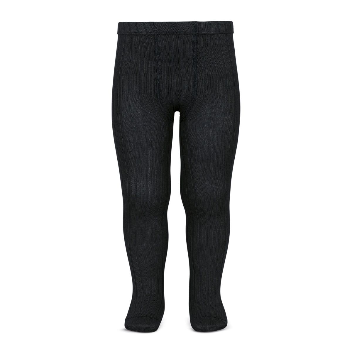 Condor Rajstopy Wide Ribbed black