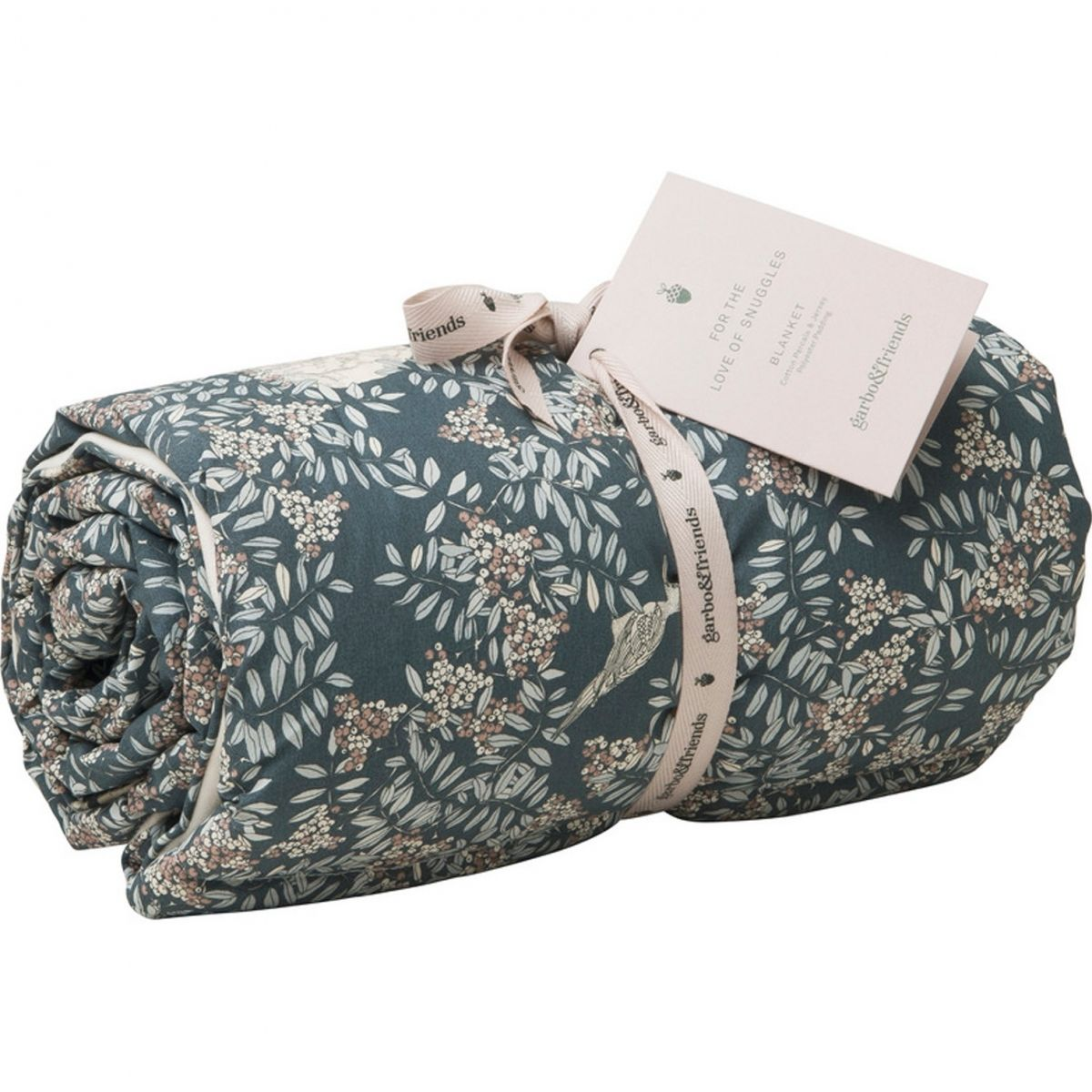 Fauna Bed Cover dark green - Garbo & Friends
