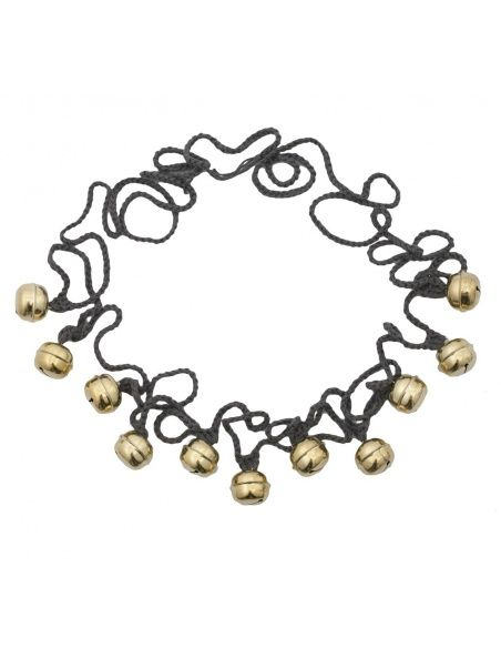 Numero 74 Ding Ding Garland dark grey gold bells