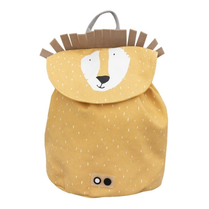 Mr. Lion backpack MINI yellow - Trixie