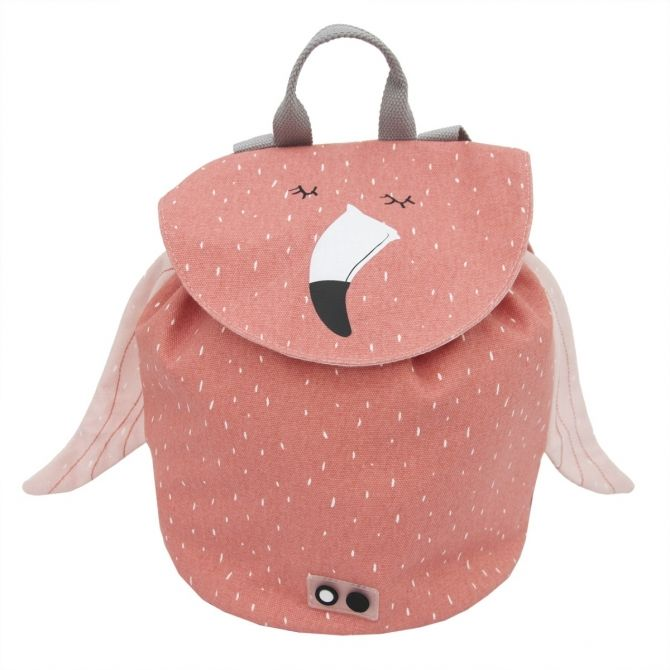 Mrs. Flamingo backpack MINI pink - Trixie