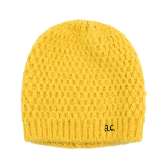 Soft Beanie yellow - Bobo Choses