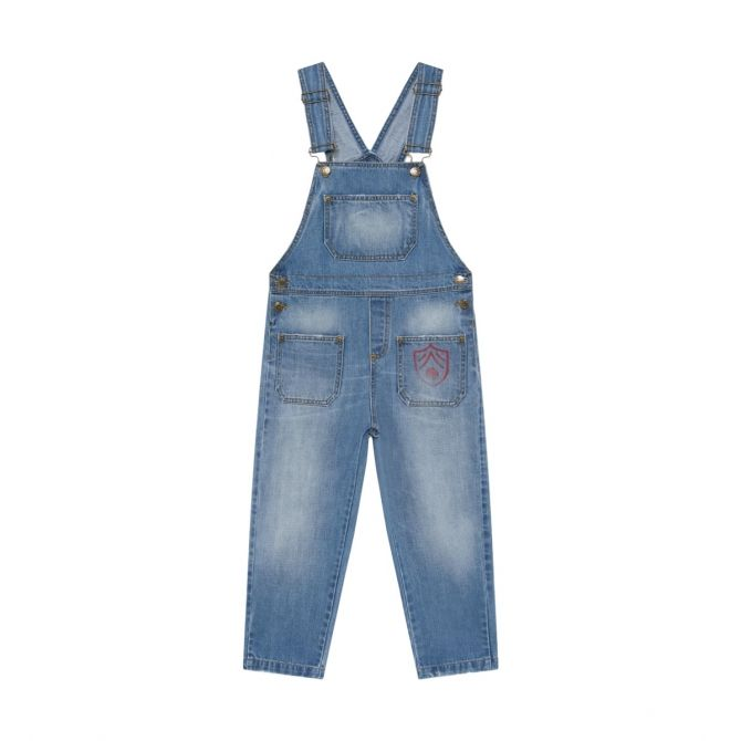 The Animals Observatory Mule jumpsuit blue