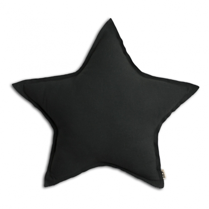 Star cushion dark grey - Numero 74