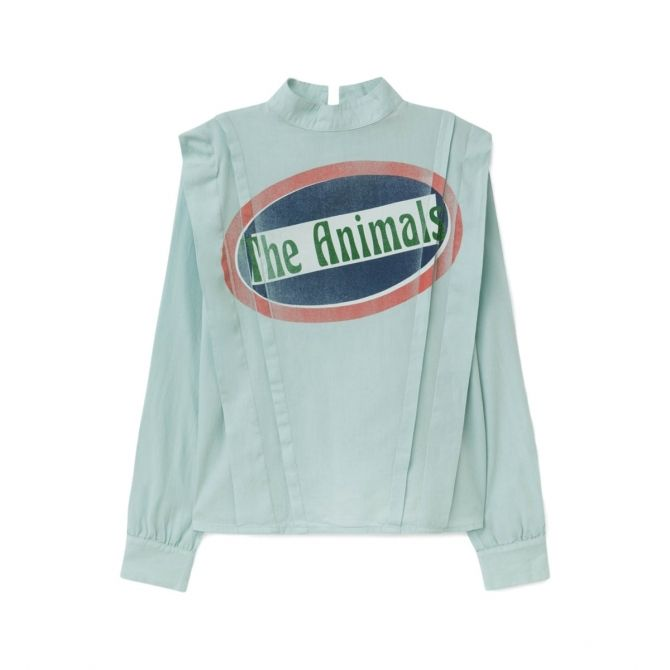 The Animals Observatory Cuckoo shirt blue
