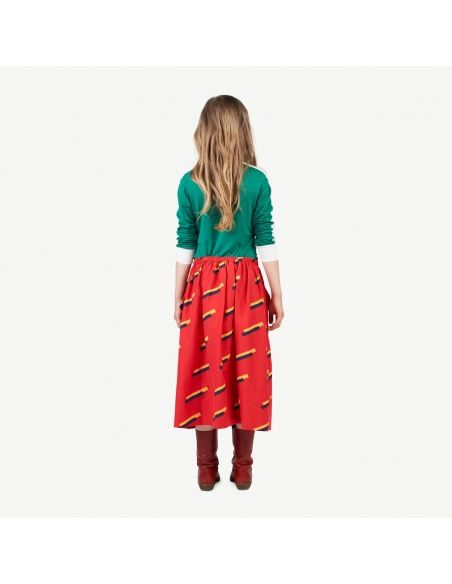 The Animals Observatory 80's skirt red