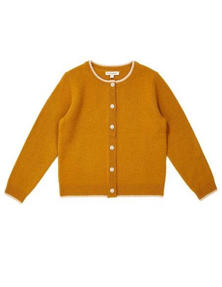 Caramel Baby & Child - Sweter Hermione musztardowy - 1