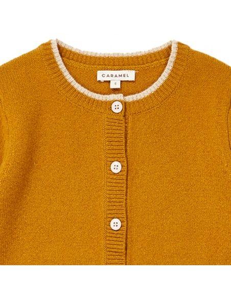 Caramel Baby & Child - Hermione Cardigan mustard - 2