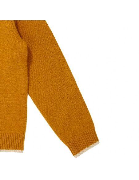 Caramel Baby & Child - Hermione Cardigan mustard - 3