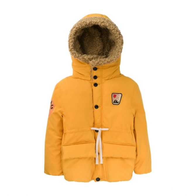 The Animals Observatory Calf Jacket yellow