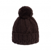 Braid Pony hat brown