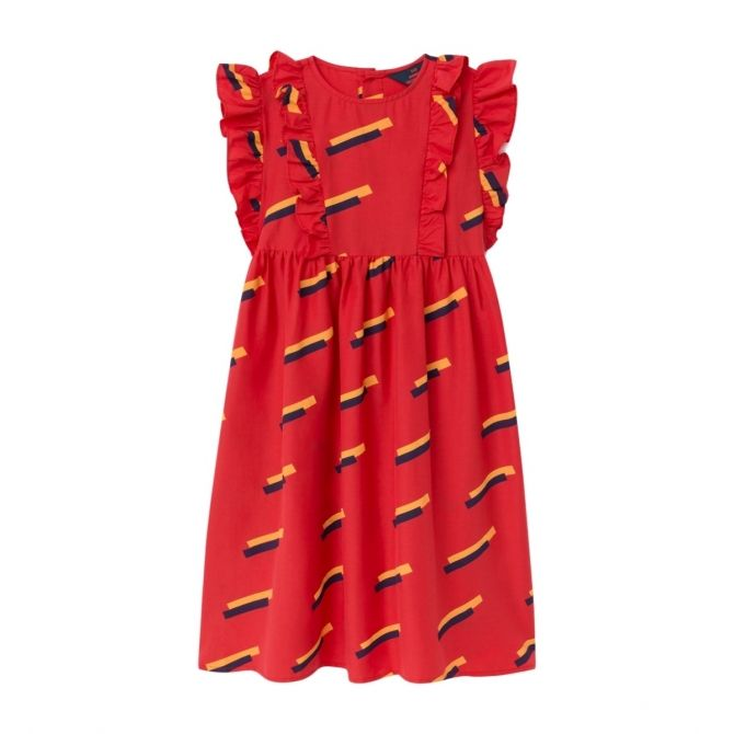 The Animals Observatory Otter 80's dress red
