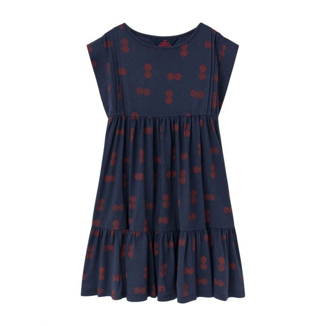 The Animals Observatory Robin Circles dress navy blue