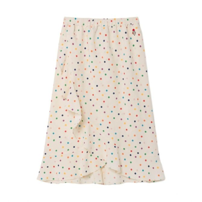 The Animals Observatory Dots skirt white