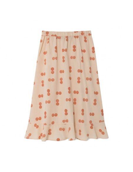 The Animals Observatory - Manatee Circles skirt orange - 3
