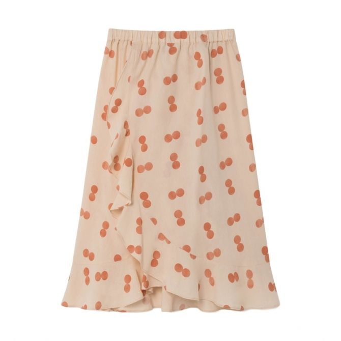 The Animals Observatory Manatee Circles skirt orange