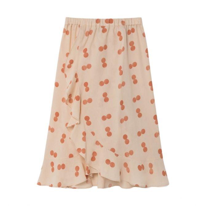 Manatee Circles skirt orange - The Animals Observatory